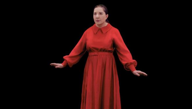 Marina Abramovic in The Life at Serpentine