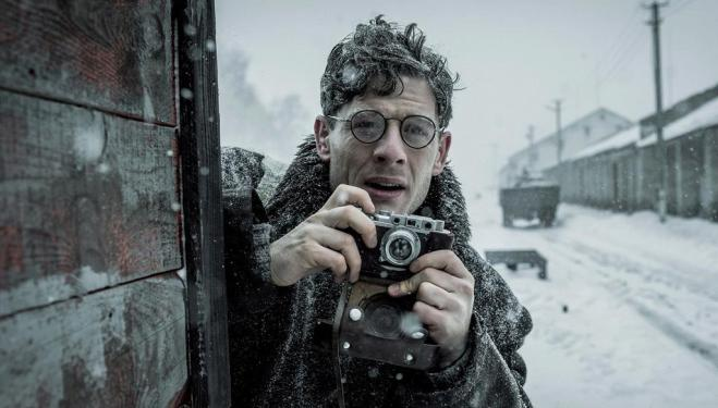 James Norton plays Gareth Jones in Mr. Jones
