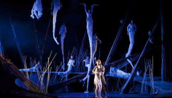 The watery underworld of Dvorak's Rusalka. Photo: Bill Cooper