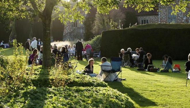 Music and picnics go hand in hand at Glyndebourne. Photo: Leigh Simpson
