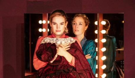 Lily James and Gillian Anderson: All About Eve, London Theatre 2019