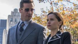 Armie Hammer and Felicity Jones in On the Basis of Sex