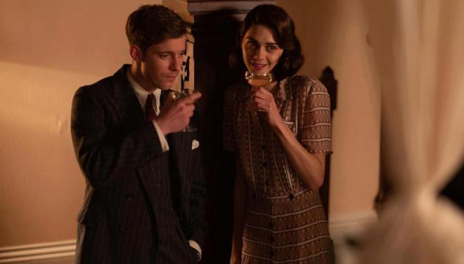 Luke Treadaway and Emma Appleton in Traitors