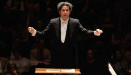Charismatic conductor Gustavo Dudamel conducts the Los Angeles Philharmonic Orchestra's Barbican residency in November. Photo: Mark Allen