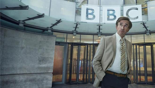 Alan Partridge (Steve Coogan) returns to the BBC