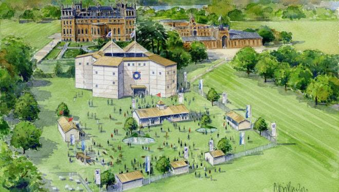 Summer of Shakespeare, Blenheim Palace