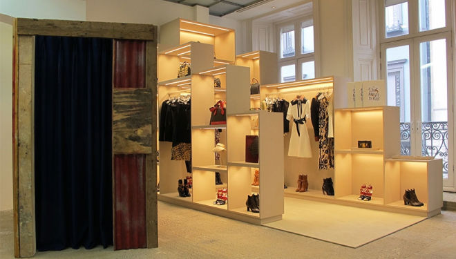 Louis Vuitton pop-up boutique at Dover Street Market