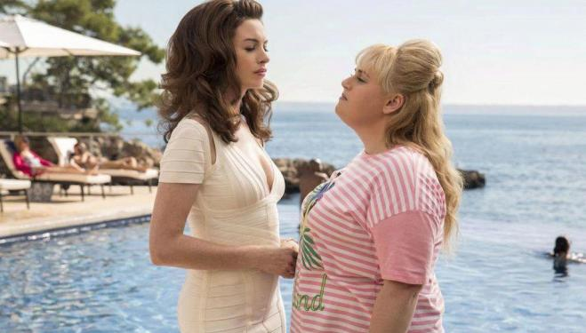 Anne Hathaway and Rebel Wilson team up as hustlers