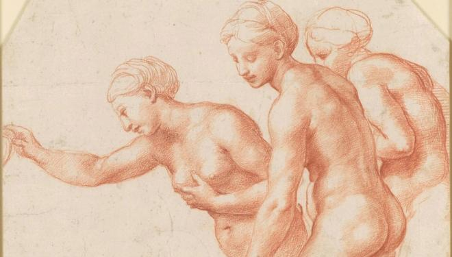 Raphael, The Three Graces, Royal Collection Trust/ © Her Majesty Queen Elizabeth II 2019