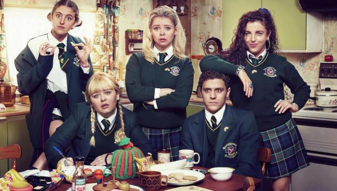 The Derry Girls are back to build bridges