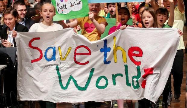 Kids' activism and the climate change strike