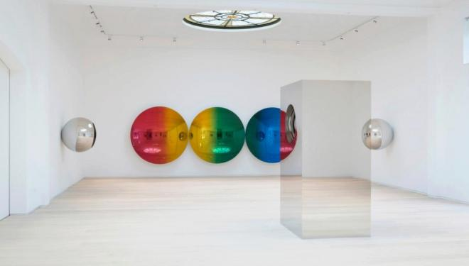 Installation View. Photographer: Dave Morgan, Artwork © Anish Kapoor, courtesy Lisson Gallery