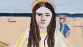 Chantal Joffe Coney Island, 2018 Oil on canvas. © Chantal Joffe. Courtesy the artist and Victoria Miro, London/Venice
