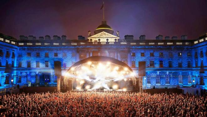 Sunset gigs at Somerset House