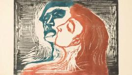 Head by Head, 1905. Edvard Munch (1863-1944), Munchmuseet