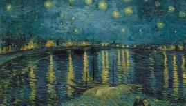 Vincent van Gogh (1853 – 1890) Starry Night 1888. Paris, Musée d'Orsay Photo (C) RMN-Grand Palais (musée d'Orsay) / Hervé Lewandowski