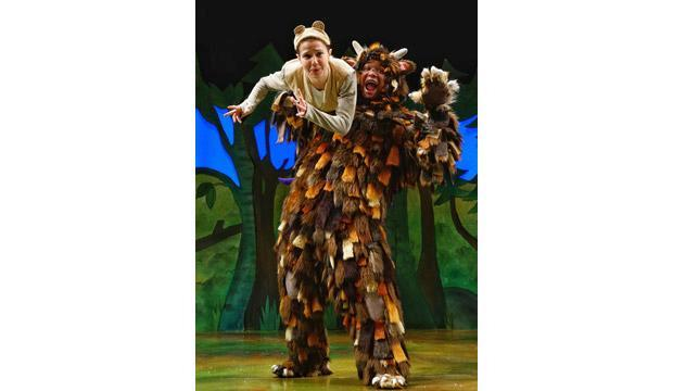The Gruffalo comes to life onstage at the Lyric Theatre