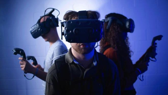 Explore London's first virtual reality arcade