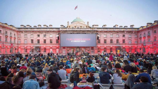 Film4 Summer Screen season in full swing at Somerset House