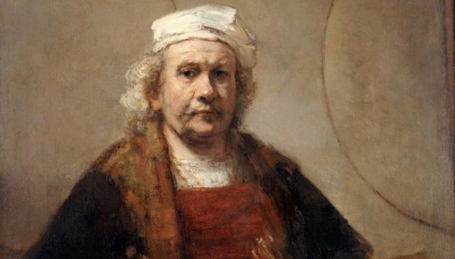 Rembrandt​ squares up to modern masters