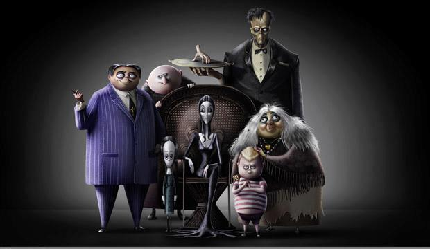 They're back - get ready for the return of The Addams Family. Photo: Cinesite