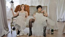 Holliday Grainger and Alia Shawkat in Animals