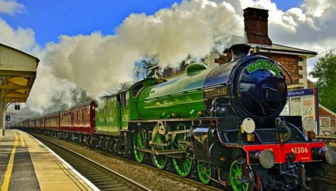 Travel from London by steam train this summer