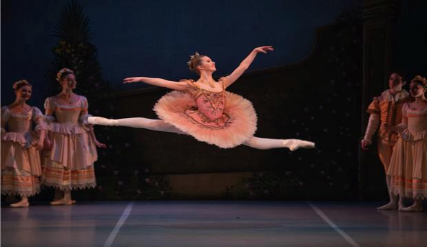 Sleeping Beauty ballet for children