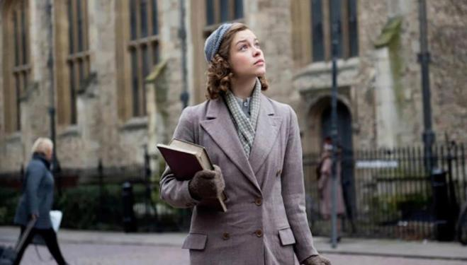 Sophie Cookson in Red Joan