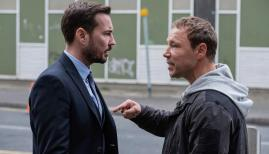 Martin Compston and Stephen Graham in Line of Duty series 5, BBC