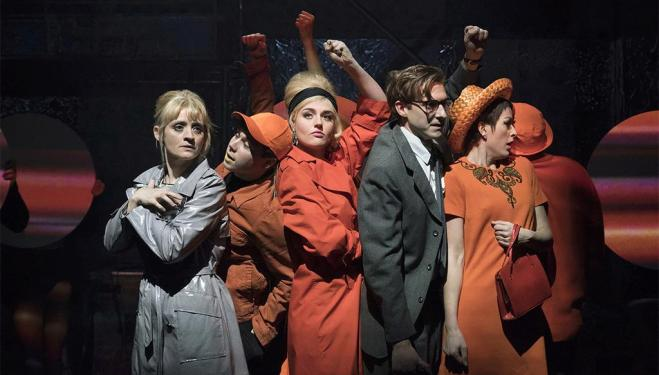 Anne-Marie Duff and Arthur Darvill sizzle in Josie Rourke's Sweet Charity