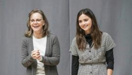 Sally Field and Jenna Coleman, All My Sons. Photo by Johan Persson