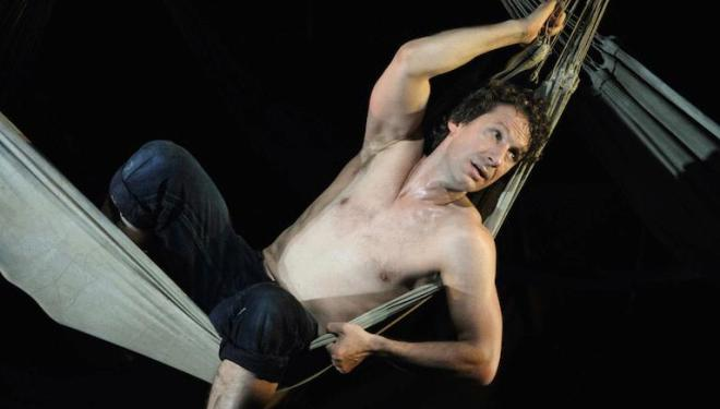 Jacques Imbrailo in the title role of Billy Budd at the Royal Opera House. Photo: Catherine Ashmore