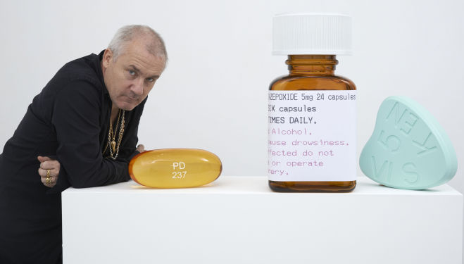 Photographed by Prudence Cuming Associates, courtesy Paul Stolper Gallery © Damien Hirst and Other Criteria, All rights reserved, DACS 2014