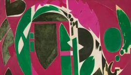 Lee Krasner Palingenesis, 1971, Collection Pollock-Krasner Foundation The Pollock-Krasner Foundation, courtesy Kasmin Gallery, New York.