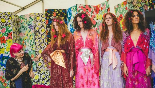 Zandra Rhodes: Fifty Years of Fabulous, Fashion & Textile Museum