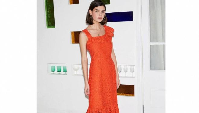 Sabine dress by Kitri, £145, available from Harvey Nichols