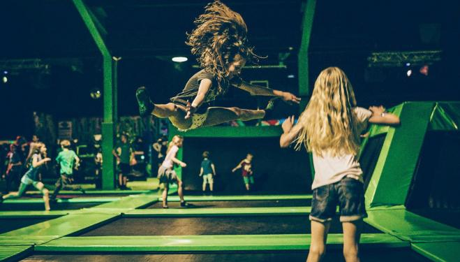 Jump around at London's trampoline parks like Flip Out