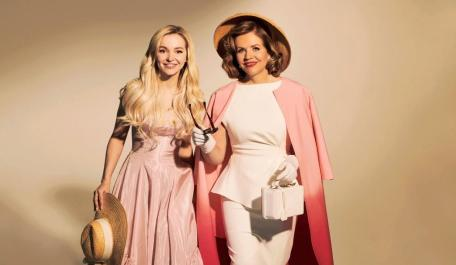 Light in the Piazza: Dove Cameron and Renée Fleming (Photograph: Gavin Bond)