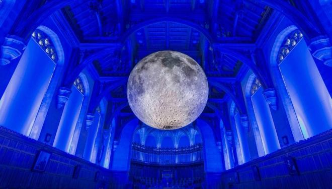 Museum of the Moon at University of Bristol UK (CREDIT) Carolyn Eaton