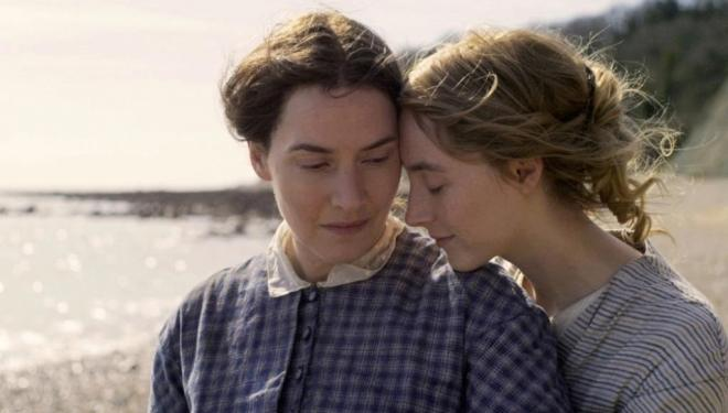 Kate Winslet and Saoirse Ronan star in Ammonite