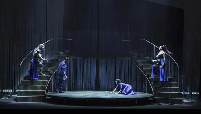 Phaedra at the Royal Opera House's Linbury Theatre has a set by takis. Photo: Bill Cooper