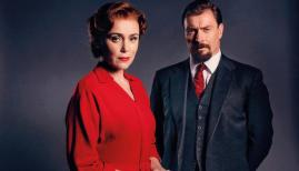 Keeley Hawes and Toby Stephens in Summer of Rockets, BBC Two