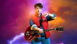 Olly Dobson in Back to the Future the Musical