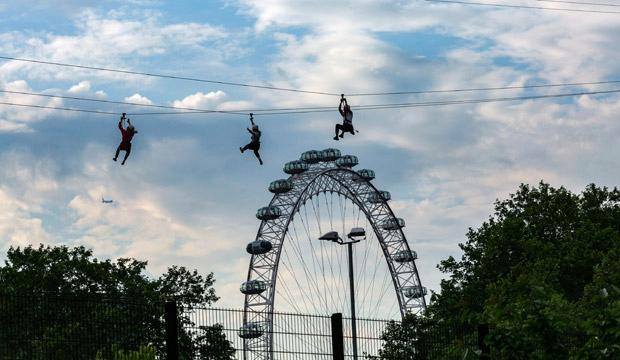 Zip Now at London's Southbank