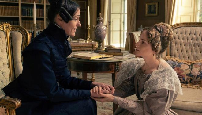 Suranne Jones and Sophie Rundle in Gentleman Jack, BBC
