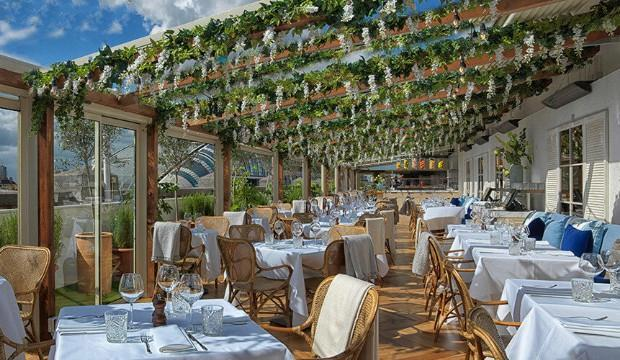Italian-style dining on Selfridges rooftop
