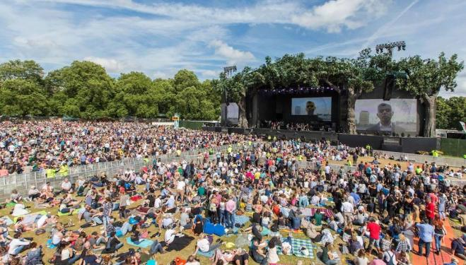 Outdoor events in London: July