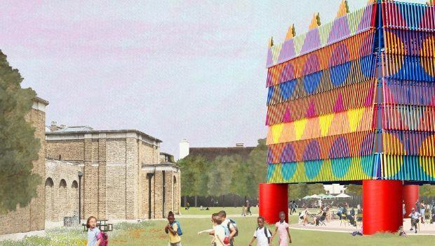 Yinka Ilori's giant Colour Palace comes to Dulwich