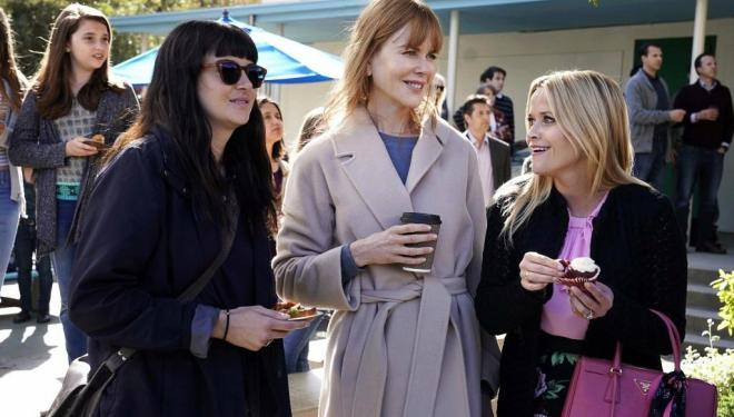 Shailene Woodley, Nicole Kidman, and Reese Witherspoon in Big Little Lies season 2, Sky Atlantic